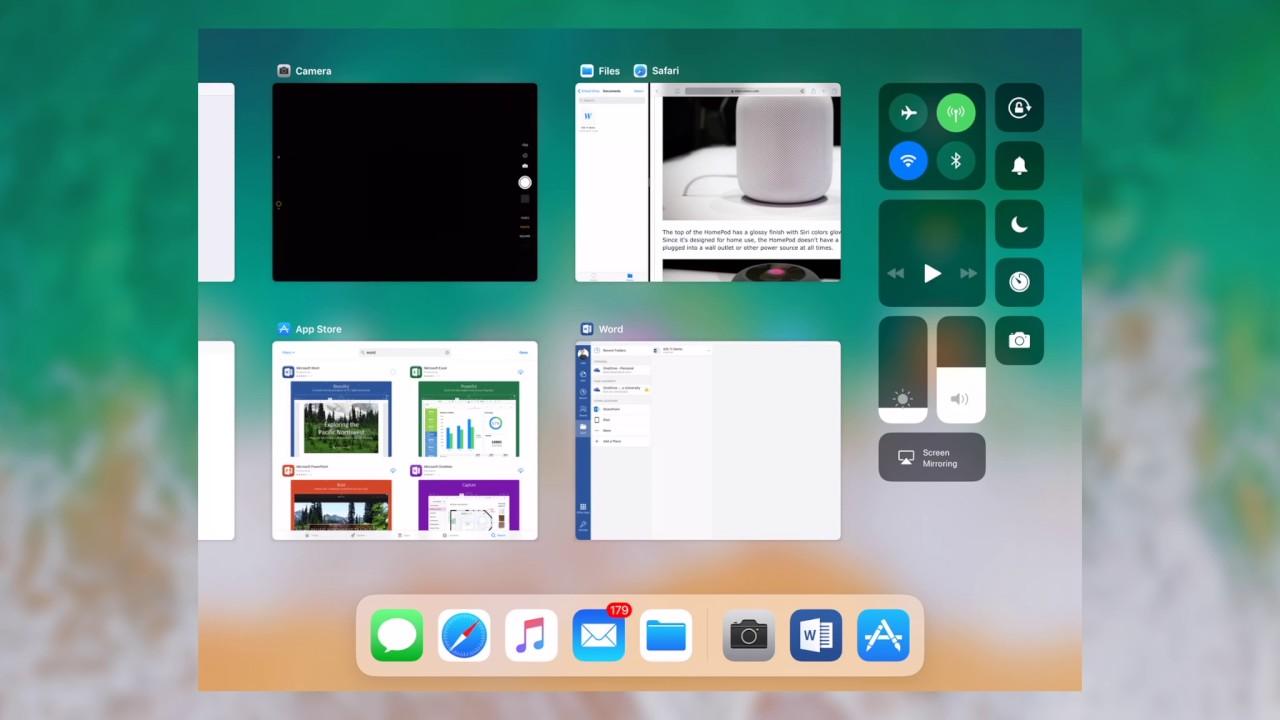 iOS 11 App Switcher Demo - YouTube