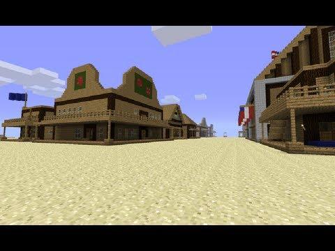 Tuto faire une maison de style western cow boy dans - Faire des travaux dans une maison ...