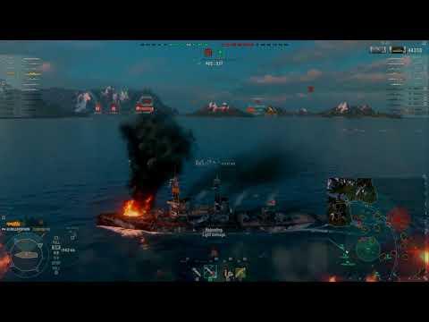 World of Warships:   HMS Bellerophon