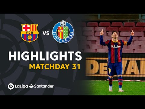 Barcelona Getafe Goals And Highlights