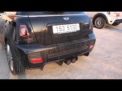 mini cooper akrapovic exhaust r56 jcw youtube. Black Bedroom Furniture Sets. Home Design Ideas
