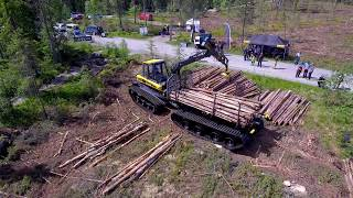 Video NEW Concept - Ponsse Buffalo onTrack with Prinoth - Test in Norway download MP3, 3GP, MP4, WEBM, AVI, FLV November 2017