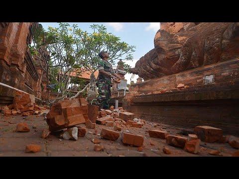 شاهد: إندونيسيا تواجه سلسلة من الزلازل ألحقت أضرارا جسيمة بالبنايات…  - نشر قبل 26 دقيقة