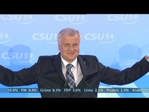 Germany: Merkel's conservative allies win in Bavarian elections