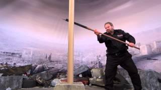 cold steel pole axe