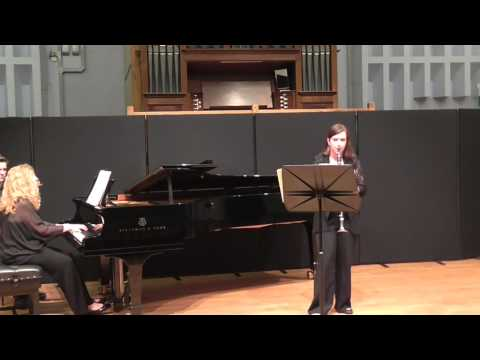 Howells- Clarinet Sonata