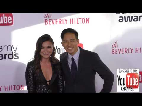Ashley Adams and Jimmy Wong at The 6th Annual Streamy Awards Hosted By King Bach And Live Streamed O