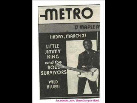 Little Jimmy King and the Memphis Soul Survivors - The Metro Saratoga Springs, NY. 1992