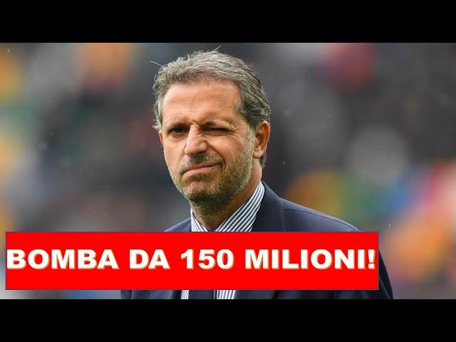 JUVENTUS: UFFICIALE, PARATICI E' PRONTO PER IL COLPO DA 150 MILIONI!
