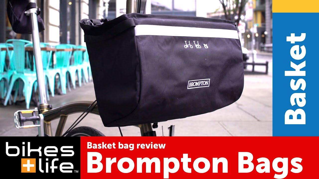 Brompton Basket Bag 2016 Brompton Bags Video Review Youtube