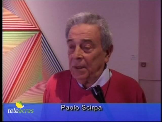 Teleacras - Agrigento, Paolo Scirpa in  mostra alle Fam
