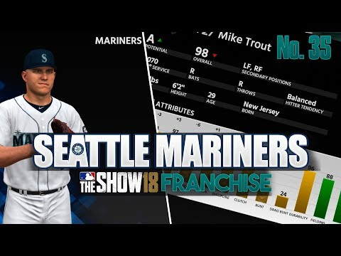 Full Offseason in MLB THE SHOW 18 Franchise Mode Seattle Mariners Ep 35