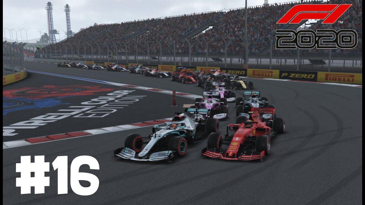 ¡¡CARRERA PERFECTA!! - MODO TRAYECTORIA MOD F1 2020 - F1 2019 CODEMASTERS (RUSIA #16)