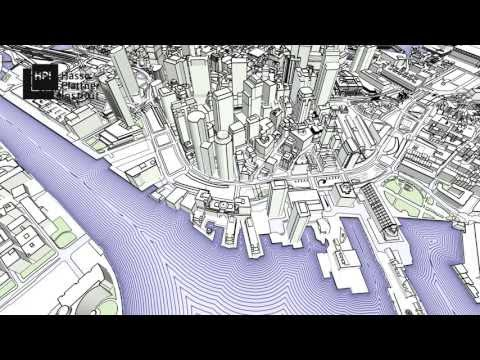 Real-Time Rendering of Water Surfaces with Cartography-Oriented Design