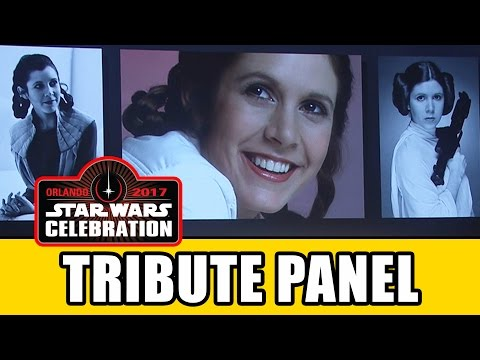 Star Wars Celebration 40th Anniversary Panel - Carrie Fisher Tribute, Harrison Ford, Mark Hamill