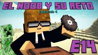 UN TOCADISCOS CREEPER! E14 El Noob y su Reto 4 - Luzu