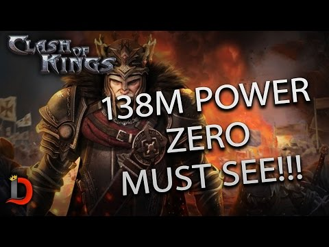138M MAX P5 GET'S ZEROED BY SMALL GROUP DETERMINED PLAYERS!!! - Clash of KIngs