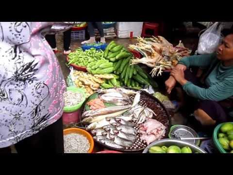 Market Food In Cambodia, Market Living Art, Asian Market Föd