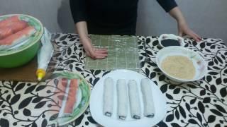 Как приготовить РОЛЫ и СУШИ Дома | ГОТОВИТЬ ЛЕГКО(Как приготовить РОЛЫ и СУШИ Дома