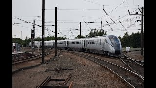 Intercity Express Trains At York including TPE 802 [HD]