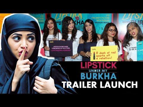 Lipstick Under My Baurkha Official Trailer Launch   Ekta Kapoor, Ratna Pathak, Konkona Sen