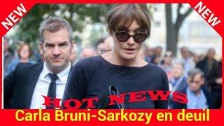 Carla Bruni-Sarkozy en deuil : elle a perdu une amie chère