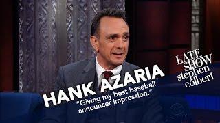 Hank Azaria Teaches Stephen The