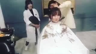 具惠善在MEPCI美容院剪頭髮