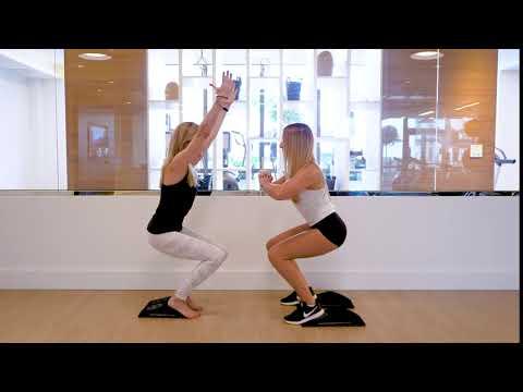 Yoga v Fitness: Chair Pose v Squat Hold