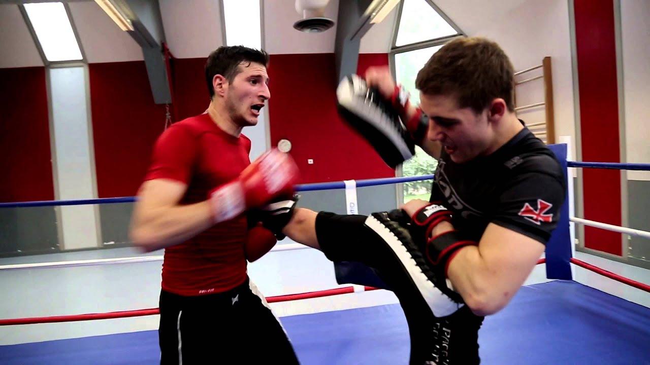 Cours de boxe particulier avec Antoine HIDRIO - YouTube