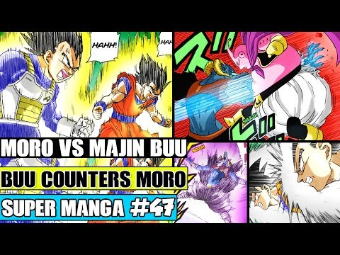 MAJIN BUU VS MORO! Majin Buu Saves Goku And Vegeta! Dragon Ball Super Manga Chapter 47 Review