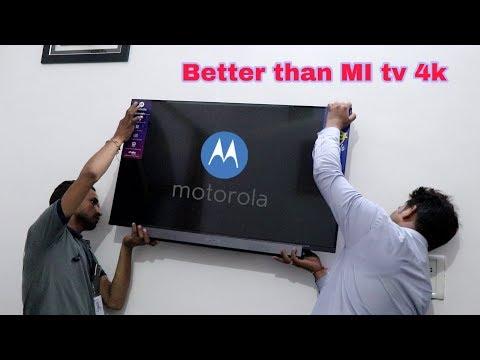Motorola tv 43 inch 4K Ultra Hd | Far Better than Mi Tv | Sound Test | Game Test |  4K Just 26000/-