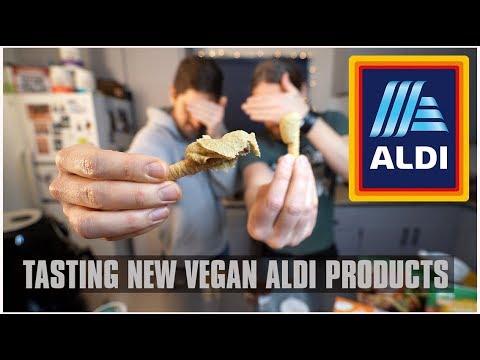 VEGAN ALDI - Tasting NEW Products - Vloggest