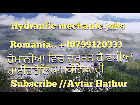 Hydraulic mechanic jobs Romania
