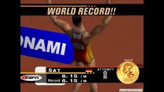 ESPN International Track & Field Gameplay (Dreamcast)
