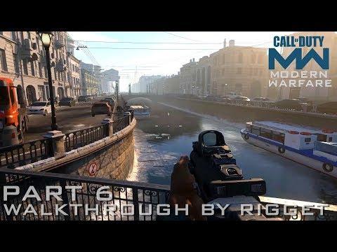 """Call Of Duty Modern Warfare 2019 Прохождение Часть 6 """"В Питере пить"""""""