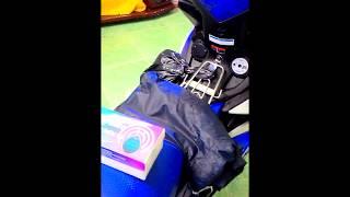 Video lắp khóa chống trộm IKY BIKE cho xe máy EXCITER 150-2015