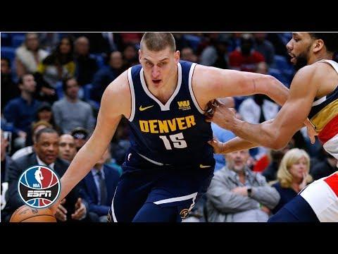 Nikola Jokic's near triple-double night leads the Nuggets past the Rockets 136-122 | NBA Highlights