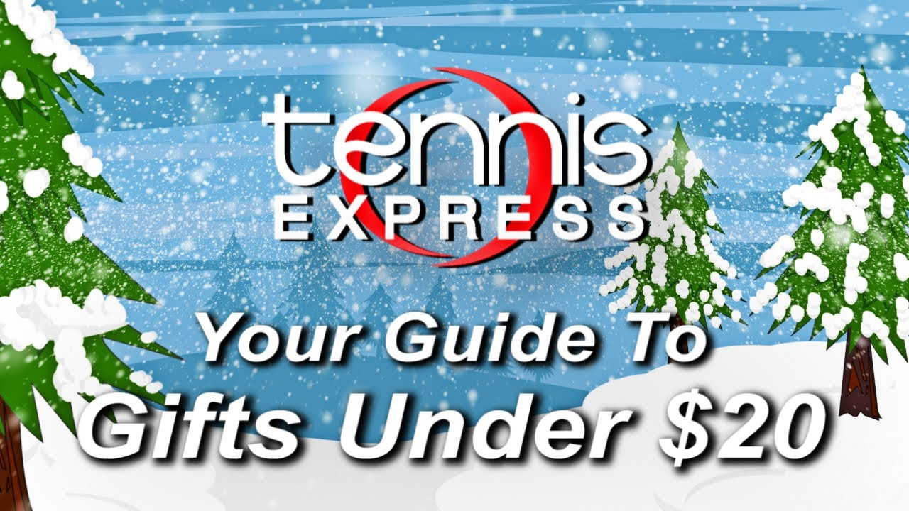 Holiday Gifts Under 20 Tennis Express Youtube