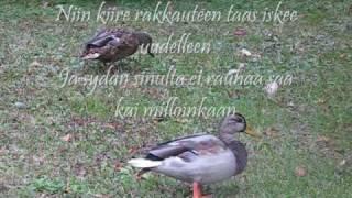 Johanna Pakonen - Niin kiire rakkauteen +Lyrics