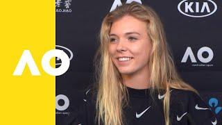 Katie Boulter press conference (1R) | Australian Open 2019