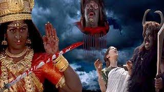 कैसे माँ काली ने किया छोटी कन्याओं को मरने वाले का अंगराक्षस  का वध || BR Chopra Superhit Serial ||