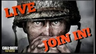 WW2 - Interactive Streamer, Need a team! - LIVE