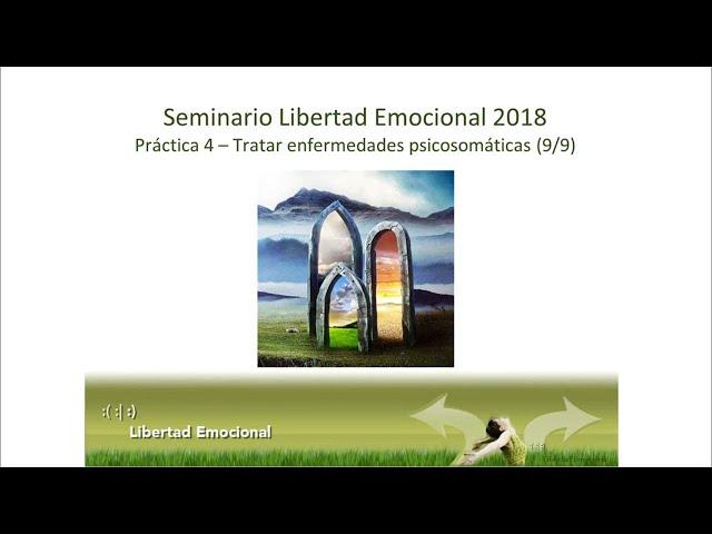 Seminario de Libertad Emocional 2018 (9/9), parte práctica 4: Enfermedades psicosomáticas