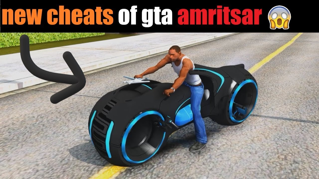 new cheats of gta amritsar game