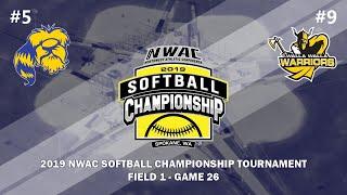 2019 NWAC Softball Championship - Field 1 - GM 26 - Centralia vs. Walla Walla