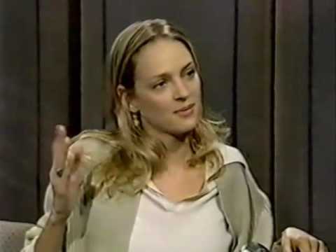 Uma Thurman on the Late Show (1994)