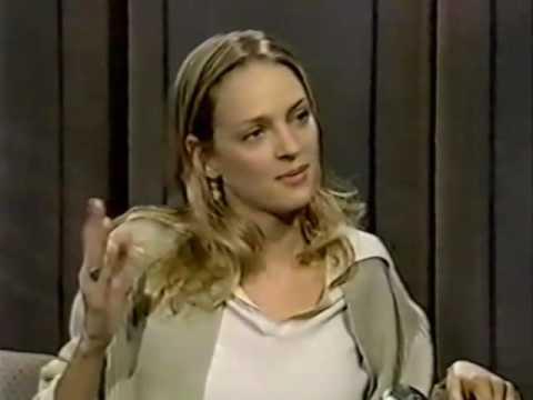 Uma Thurman on the Late  1994