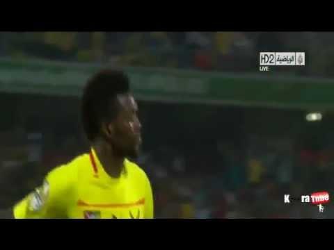 Algeria vs Togo 0-1 Adebayor Goal (Africa Cup of Nations)