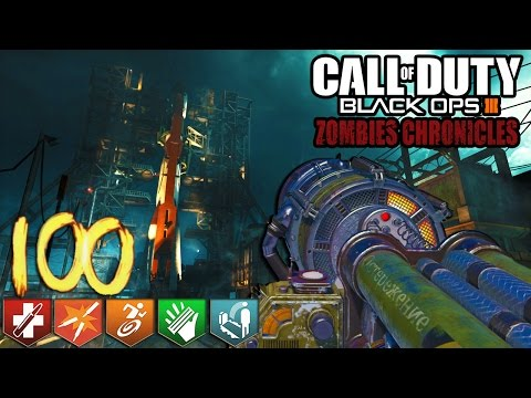 """ZOMBIES CHRONICLES"" DLC 5 SOLO EASTER EGGS & HIGH ROUNDS COUNTDOWN STREAM (Black Ops 3 Zombies)"